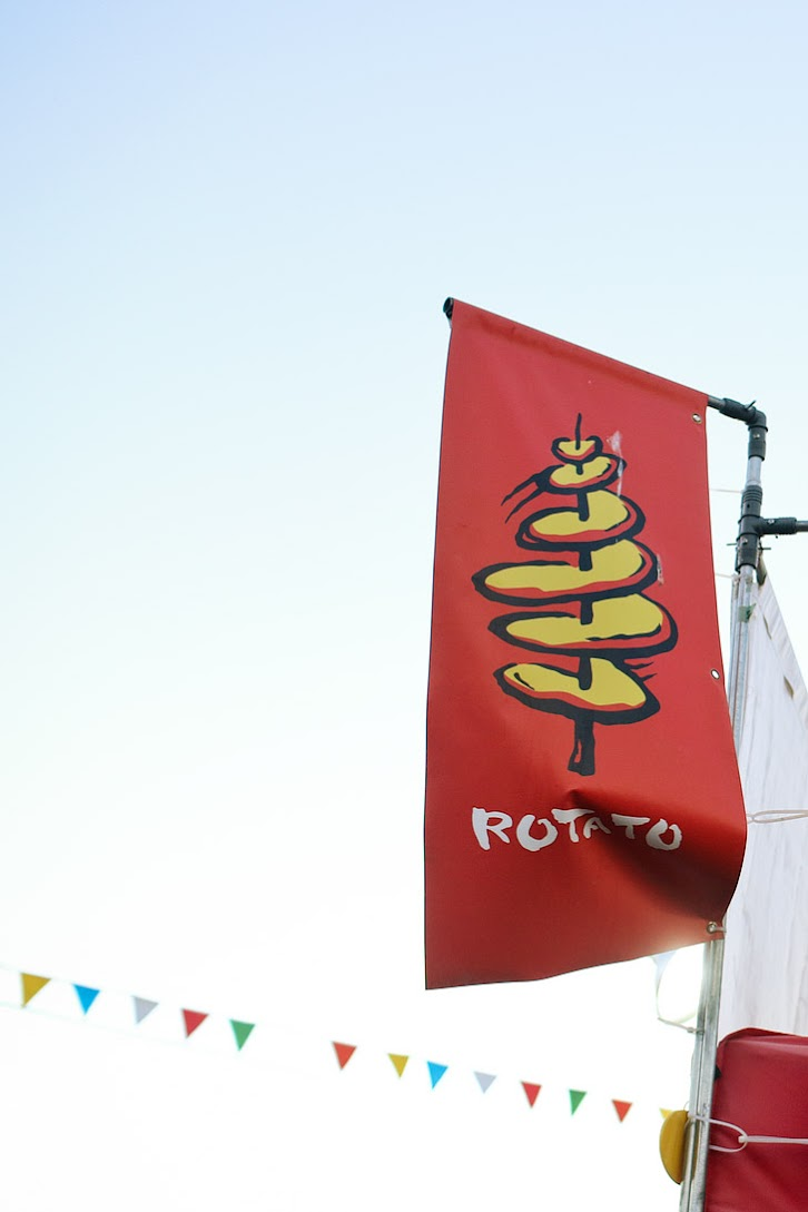 Rotato at Richmond Night Market // Things to do in Vancouver BC.