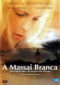 capa Download – A Massai Branca – DVDRip AVI Dual Áudio