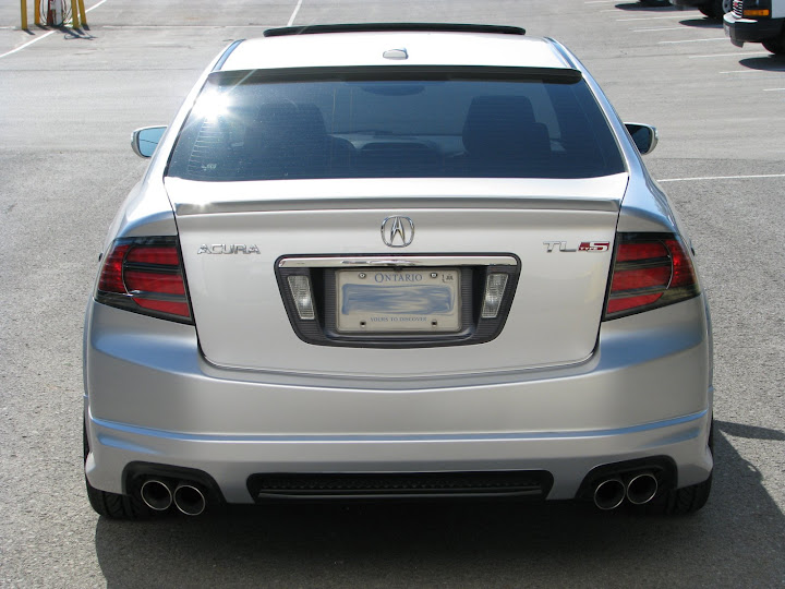 What Rear Roof Spoiler Should I Get AcuraZine Acura Enthusiast - Acura tl spoiler