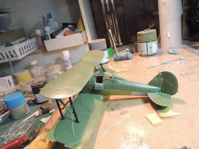 [Airfix] Gloster Gladiator DSCN1860