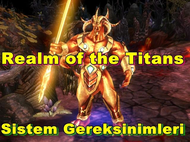 Realm of the Titans PC Sistem Gereksinimleri