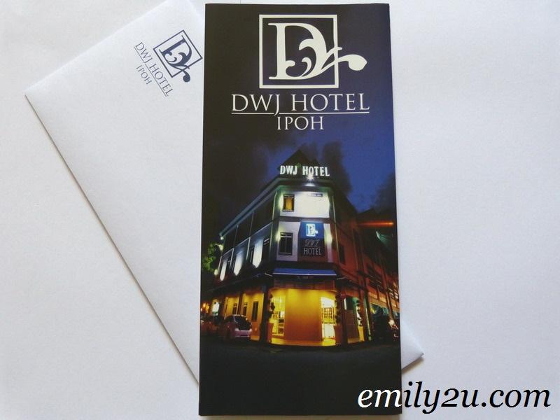 Emily2U Freebie Giveaway #2 - FREE 2D/1N Deluxe Suite Stay @ DWJ Hotel Ipoh