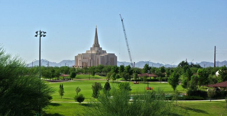 Gilbert Arizona Temple, August 3, 2012