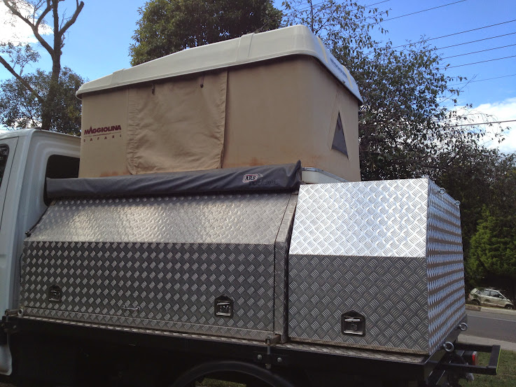 NSW - Slide on Aluminium Camper with Maggiolina Roof Top