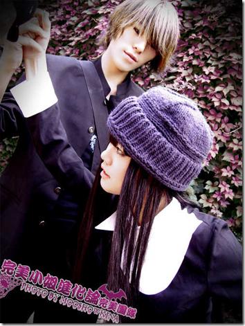 the wallflower / yamato nadeshiko shichi henge cosplay - takano kyohei and nakahara sunako