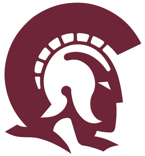 Image result for maroon trojan head