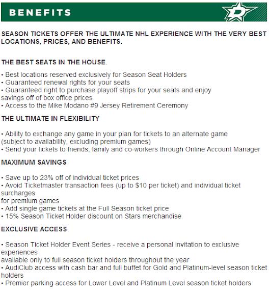 appendix what your season ticket holder dollars around