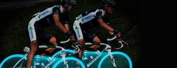 Este verano únete a las marchas ciclistas nocturnas de Movistar