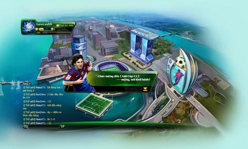 SSGroup thử nghiệm webgame quản lý bóng đá Cup C1 5