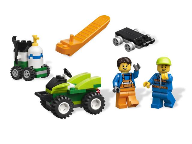 レゴ 基本セット たのしい自動車 4635