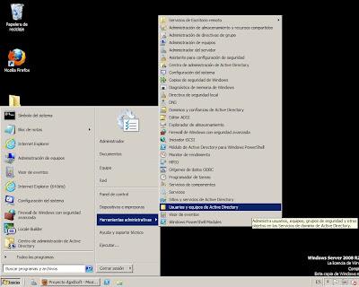 Configuración tras la promoción a controlador de dominio en Windows Server 2008