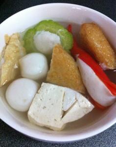 Poppygals Kitchen Yong Tau Foo Soup