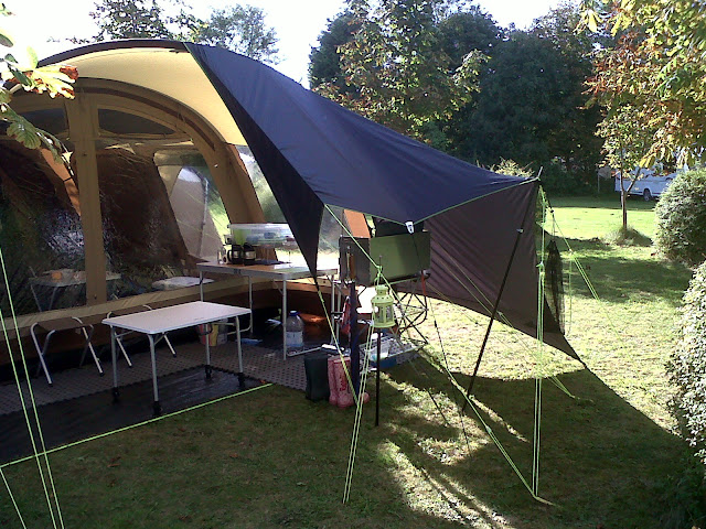 Tarp option for Vermont XLP UKCampsitecouk Camping under
