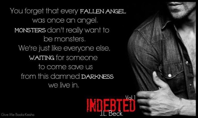 Indebted by J  L  Beck is FREE!!!