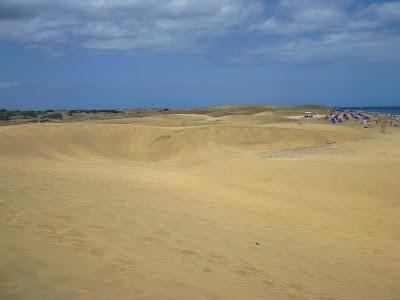 Dünen und Strand von Maspalomas