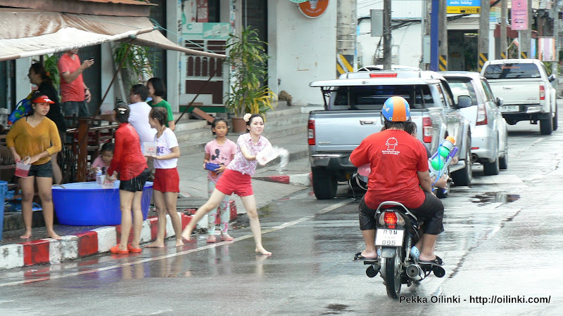Songkran in Phuket 2012