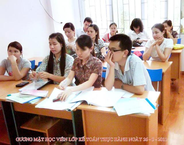 Kimi thường xuyên chiêu sinh lớp kế toán doanh nghiệp và khai báo thuế  tại TPHCM