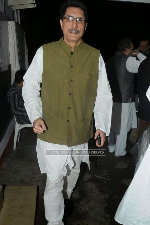 Pranit Sachdev during the iftaar party.