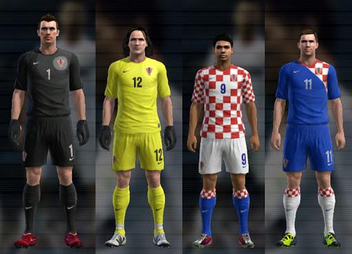 Croácia 12-13 Kitset - PES 2012