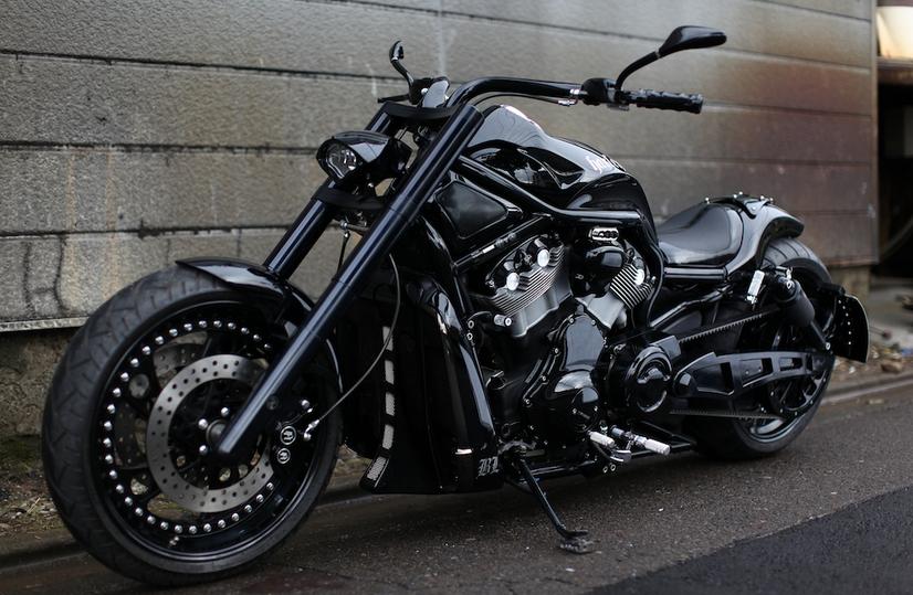 China Dress Dublog Harley Davidson Vrscdx Night Rod: China Dress Dublog: BAD LAND