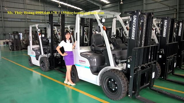 Xe nâng Nissan Unicarriers 1.5 - 3.5 tấn