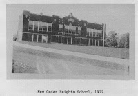 "The second Cedar Heights School (1922), 2417 Rainbow Dr. Photo from Jack Gager's ""Cedar Heights"" (1993)"