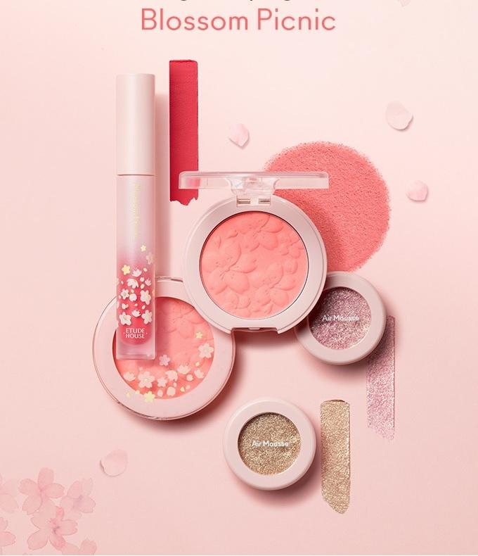 Etude House Blossom Picnic Matte Chic Lip Lacquer