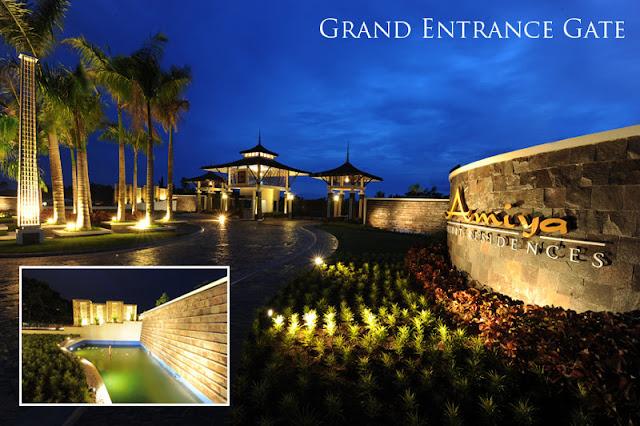 Amiya Resort Residences Entrance Gate