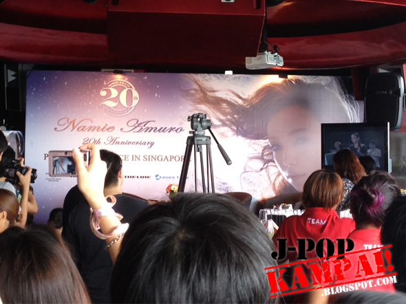 My Experience with Namie Amuro in Singapore