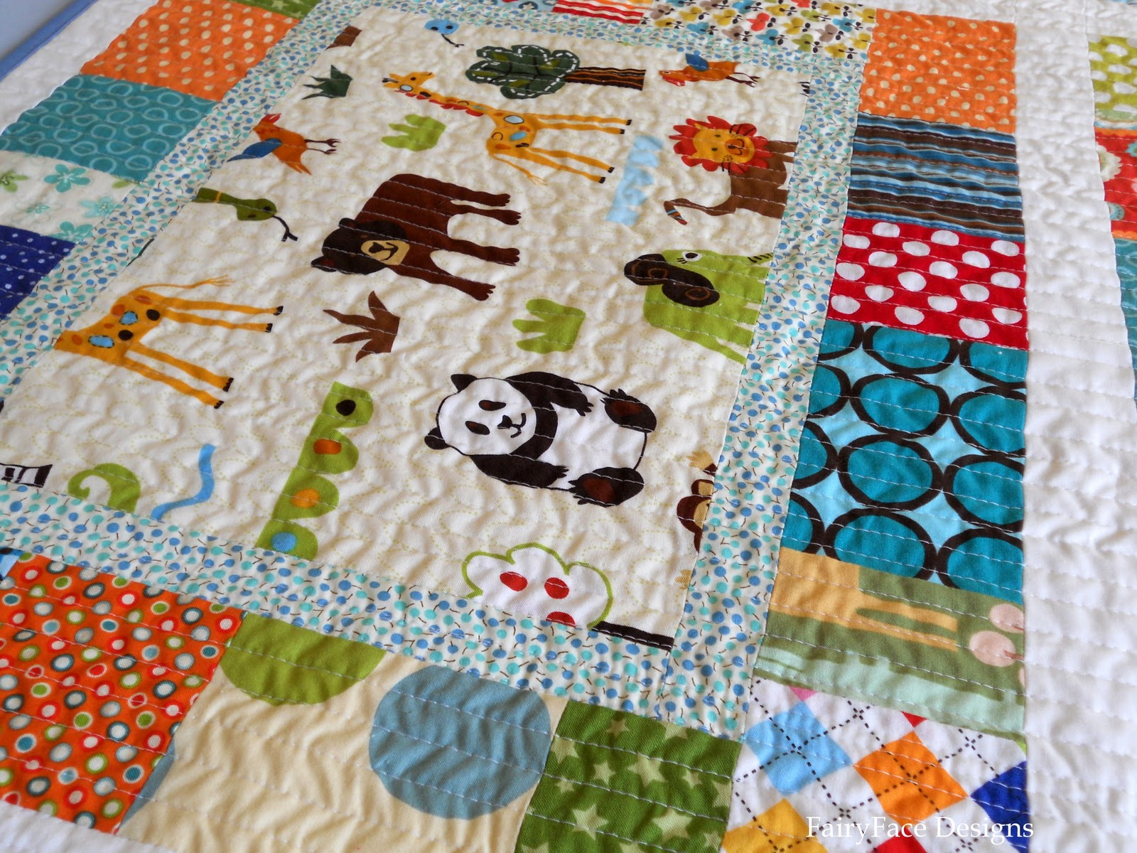 Quilt Story I Spy A Boy Quilt From Fairyface Designs