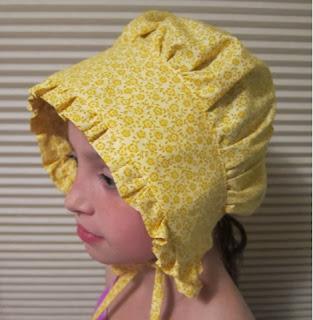 prairie, sunhat sun bonnet, colonial