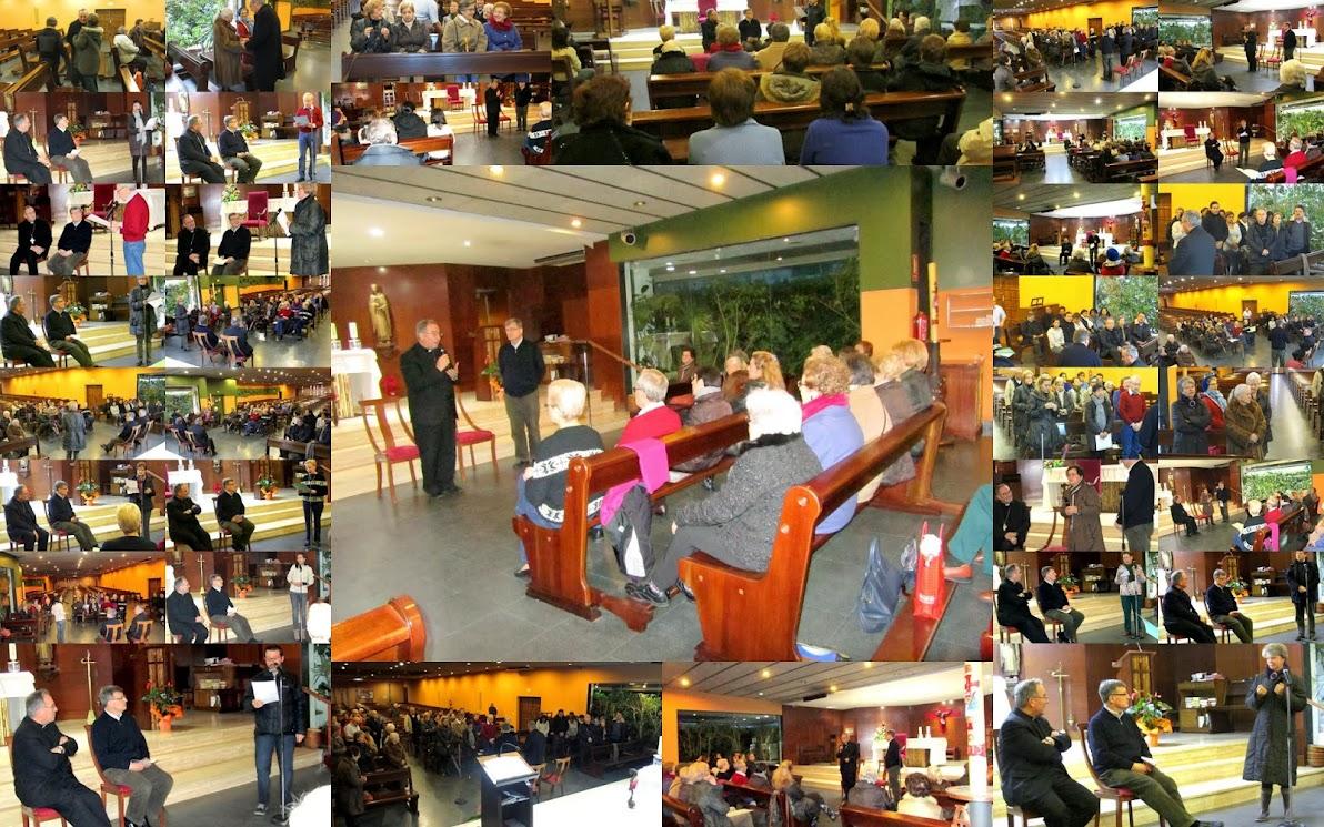 Reunió amb els col·laboradors i col·laboradores parroquials