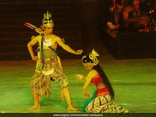 Rama and Sinta love story (RAMAYANA)