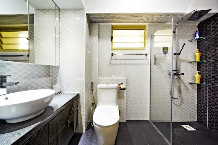 Toilet interior design singapore bathroom renovation for Toilet renovation design