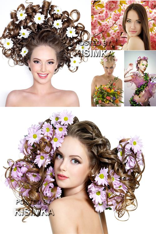 Stock Photo: Spring Lady