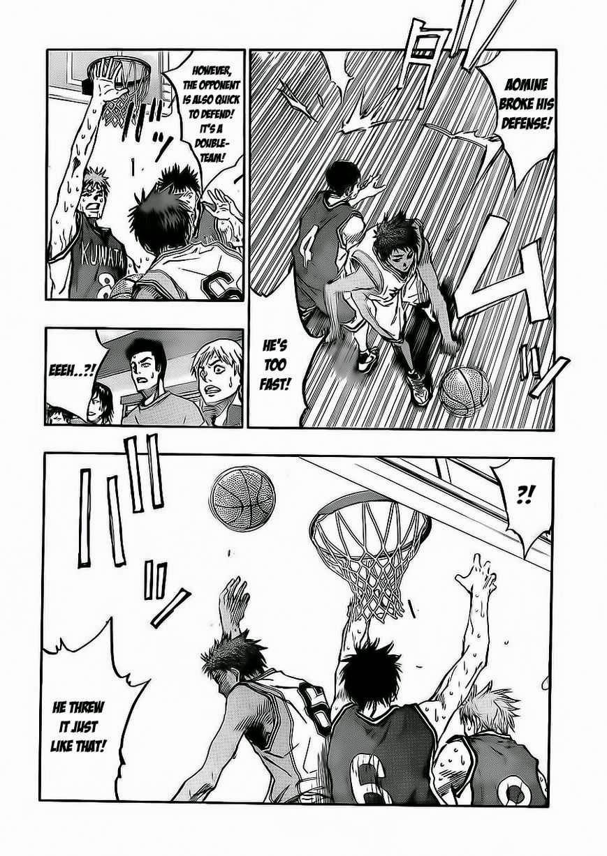 Kuroko no Basket Manga Chapter 222 - Image 06