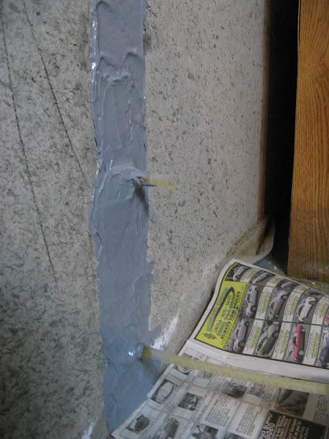 crack repair materials polyurethane concrete foundation and basement