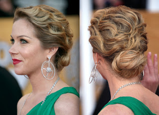 Wavy Updo Hairstyle Pictures - Celebrity Hairstyle Ideas