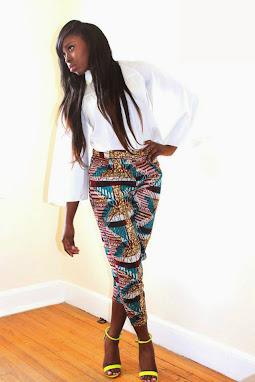 ankara styles, trouser