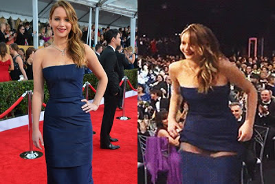 Jennifer Lawrence's Dior Most Worst Dress Fail!