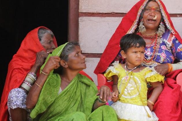 Lamani Tribal Women sing a traditional song at Dandeli