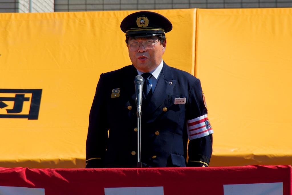 消防長挨拶:渡邊純 様