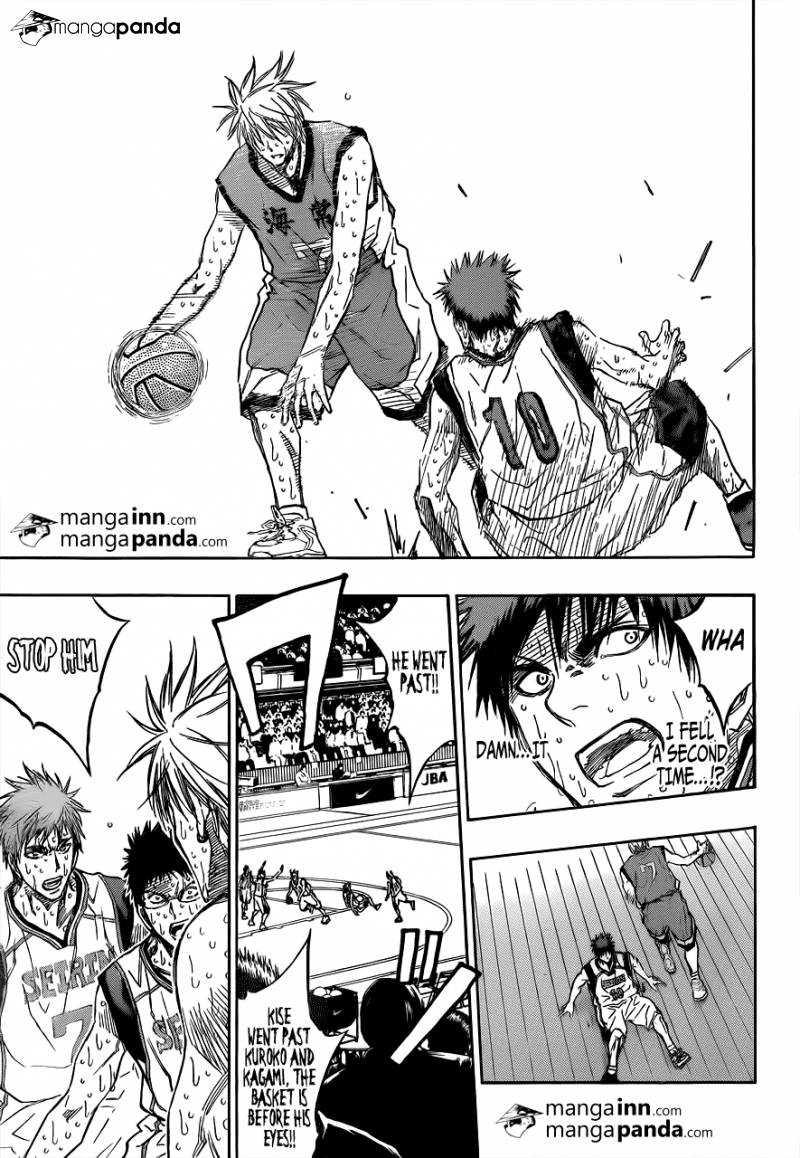 Kuroko no Basket Manga Chapter 201 - Image 09