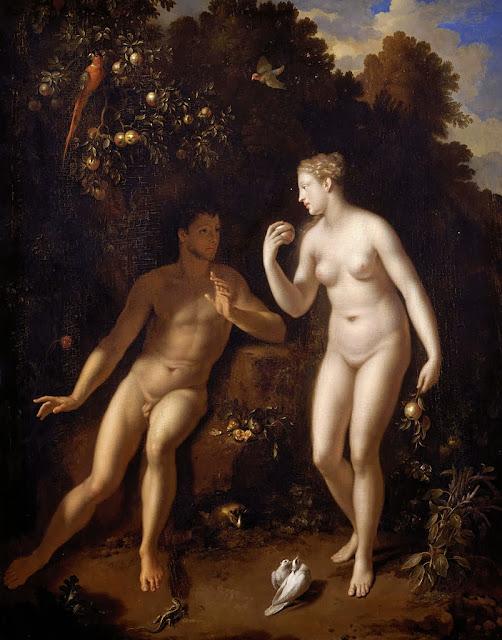 Adriaen van der Werff - Adam and Eve