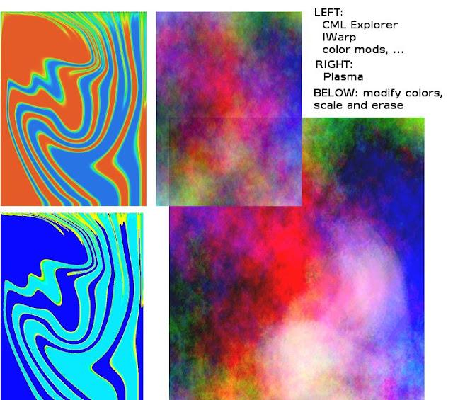 Digital Abstract Warp 3