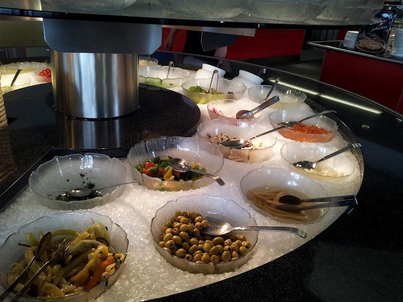 Bild vom Salatbuffet