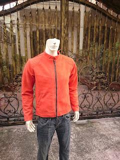 áo khoác da lộn nam cao cấp