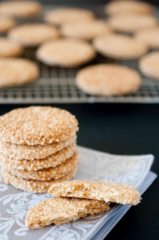 Moroccan sesame seed cookies