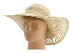 Palarii Juicy Couture Pattern Straw Sunhat Natural