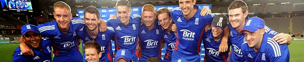 England in Champions Trophy 2013